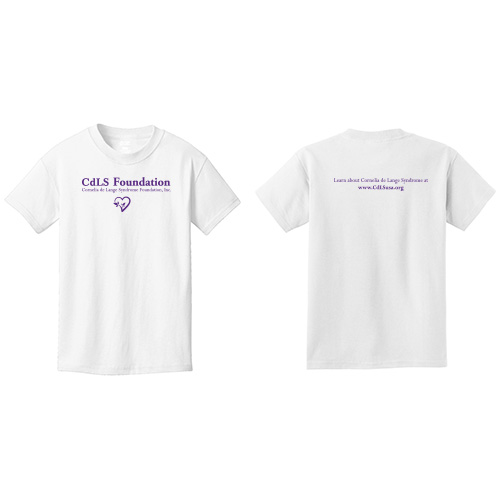 CdLS Foundation Short Sleeve T-Shirt - Youth